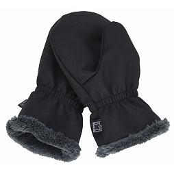 Dětské zimní rukavice vel. 1 (1-2 roky) - ČERNÉ S KOŽÍŠKEM (Fantom) ea28d48c70