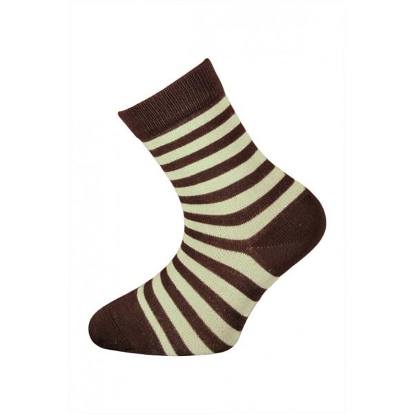 350bfb328f4 Bambusové ponožky vel. 29 - 32 - HNĚDÝ proužek empty