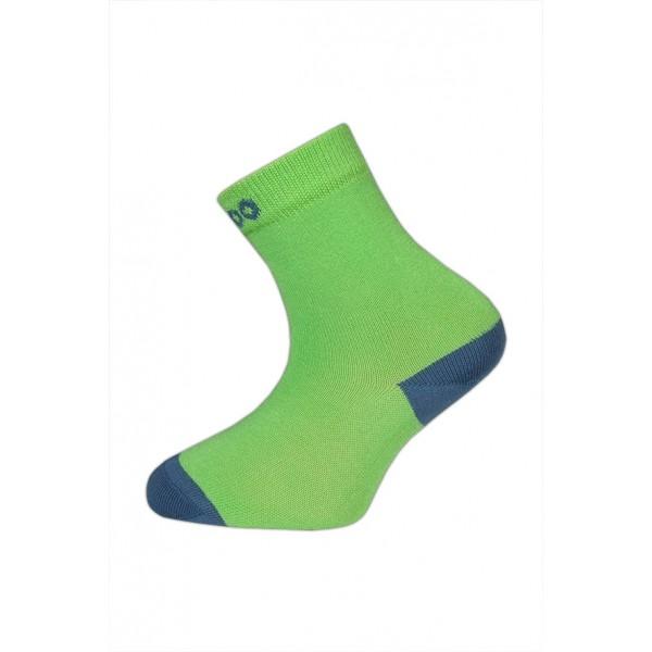 Bambusové ponožky vel. 33 -35 - HUGO zelené empty dc45ece853