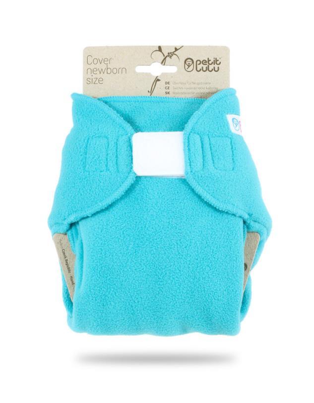 Novorozenecké svrchní kalhotky Petit Lulu (flís) - Tyrkys empty 14f4cfc9c5