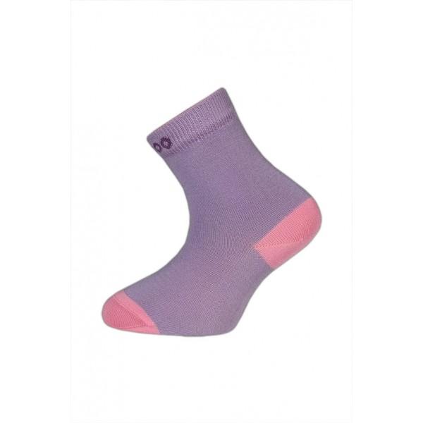 0a293a1cf50 Bambusové ponožky vel. 33 -35 - HUGO fialové