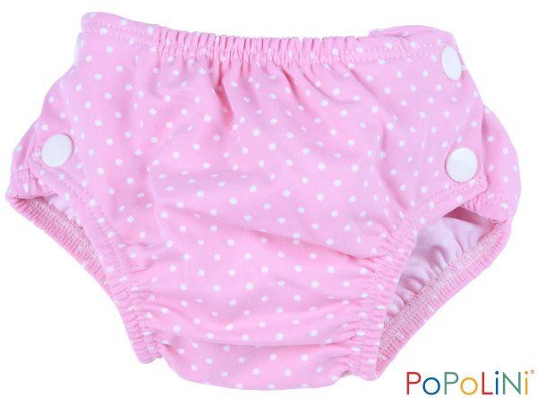 231cf1ce582 Plenkové kojenecké plavky Popolini vel. L - růžové