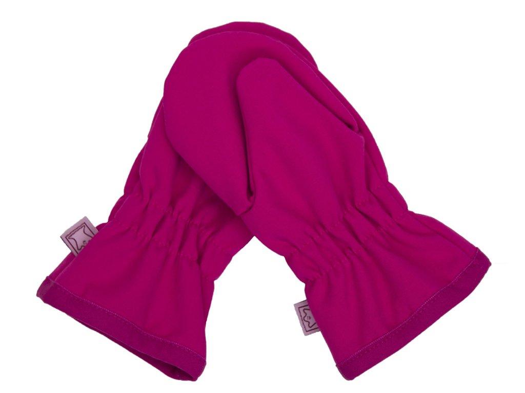 Dětské zimní rukavice vel. 1 (1-2 roky) - RŮŽOVÉ bez kožíšku (Fantom) 807abd8f63