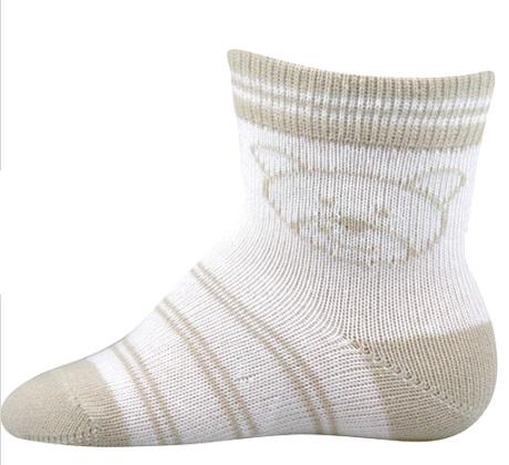 Kojenecké ponožky Lili vel. 18 - 20 - Méďa empty 3df925a001