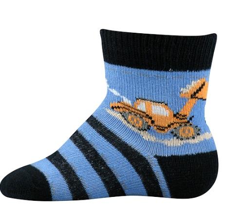 Kojenecké ponožky Lili vel. 18 - 20 - Bagr empty 822f39744f