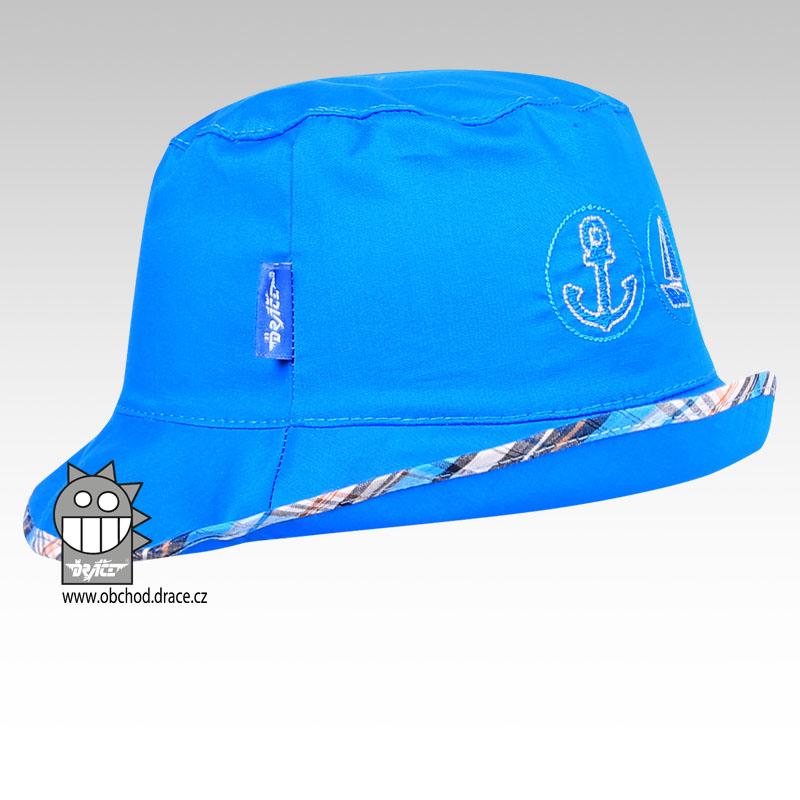 049972d31d4 Letní klobouk Dráče vel. 46-48 - Havana (modrý 09) empty