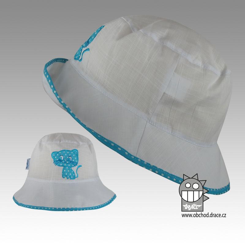 253847c709a Letní klobouk Dráče vel. 44-46 - Havana (modrá kočička 03) empty