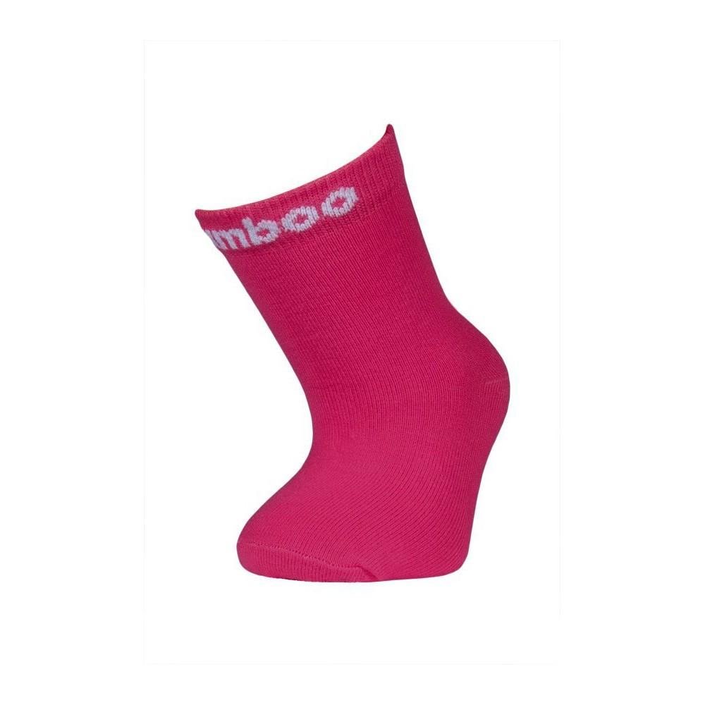 Bambusové ponožky vel. 35 - 38 - tmavě růžové empty 7ef76e15ad