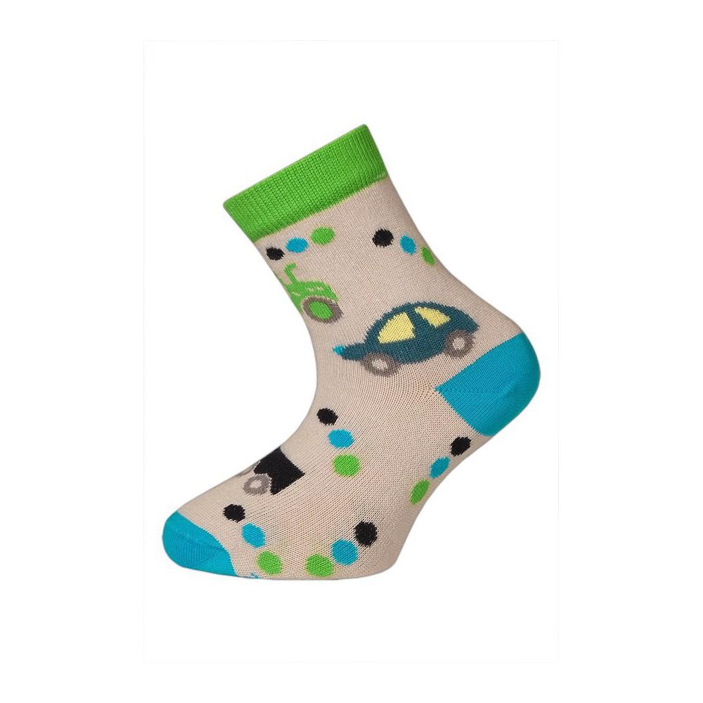 Dětské ponožky vel. 14 - 18 - TRAKTOR šedé empty 59a1f5fc44