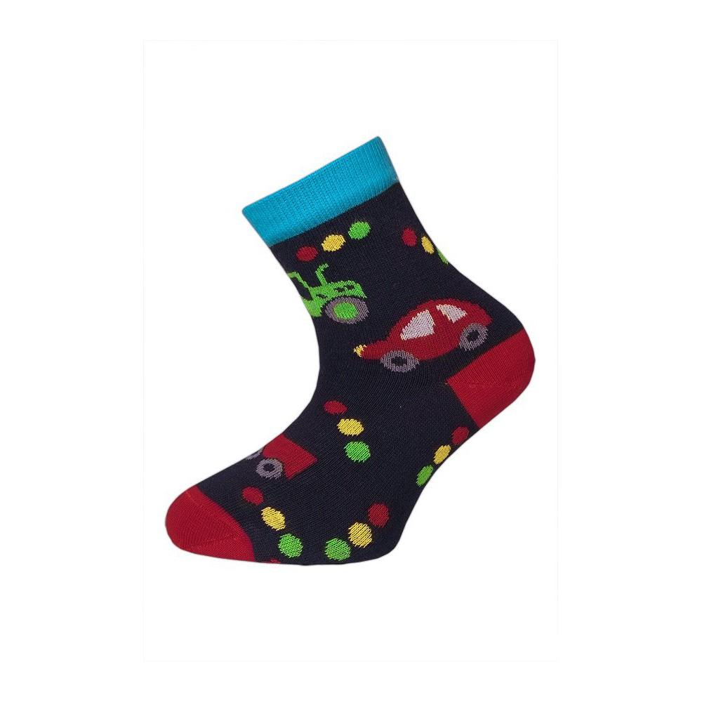 6b35b3e1ef5 Dětské ponožky vel. 24 - 27 - TRAKTOR tm.modré empty