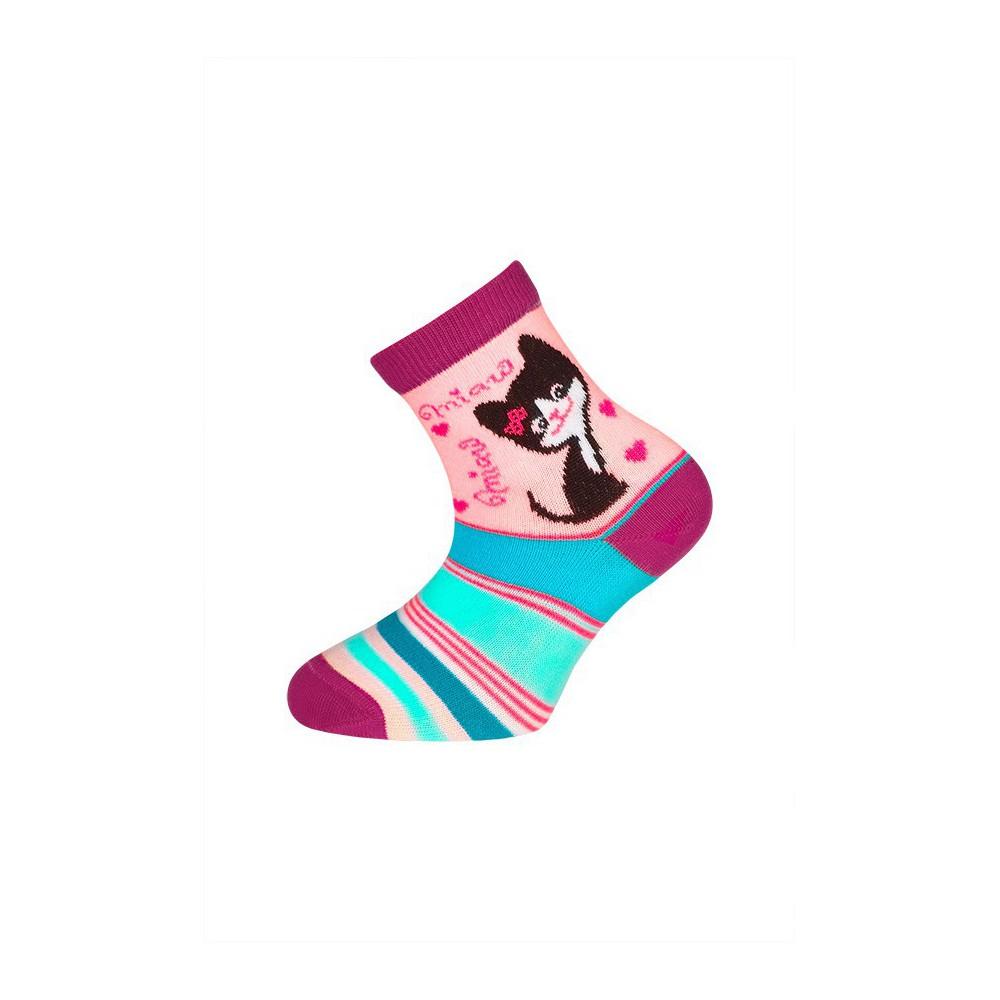 Dětské ponožky vel. 14 - 18 - MINDA růžová empty f78c27e08a